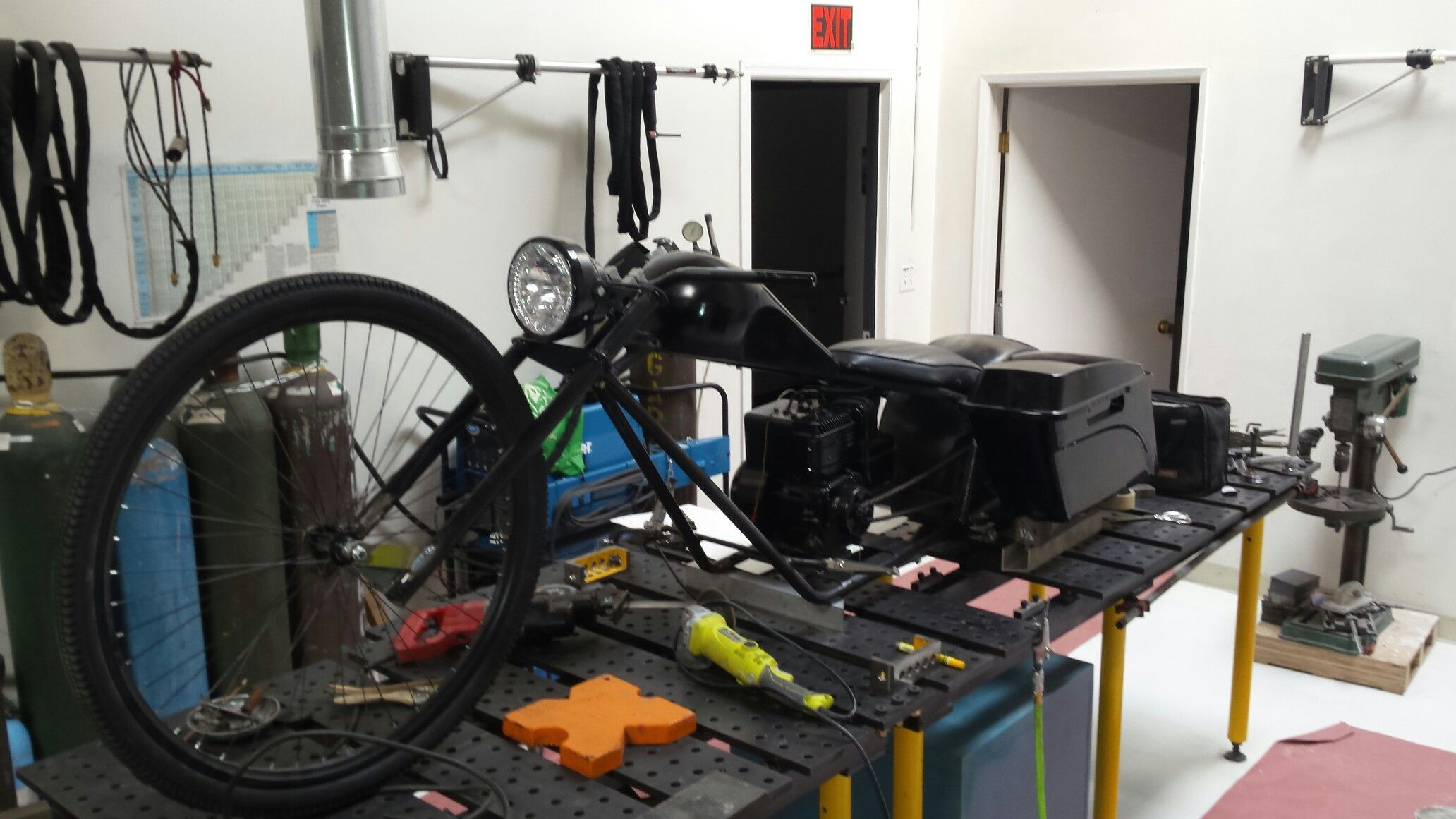 Berühmt Mini bagger mini bike build | baggers | Mini bike, Bike, Bicycle @MH_68