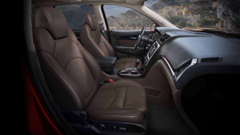 2014 Gmc Acadia Slt Interior In Cocoa Dune Gmc Car And Driver Acadia