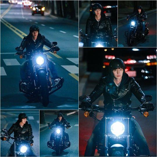 '착않여' 송재림, 평소 실력 드러나는 오토바이 라이딩 '능수능란' | Daum 연예