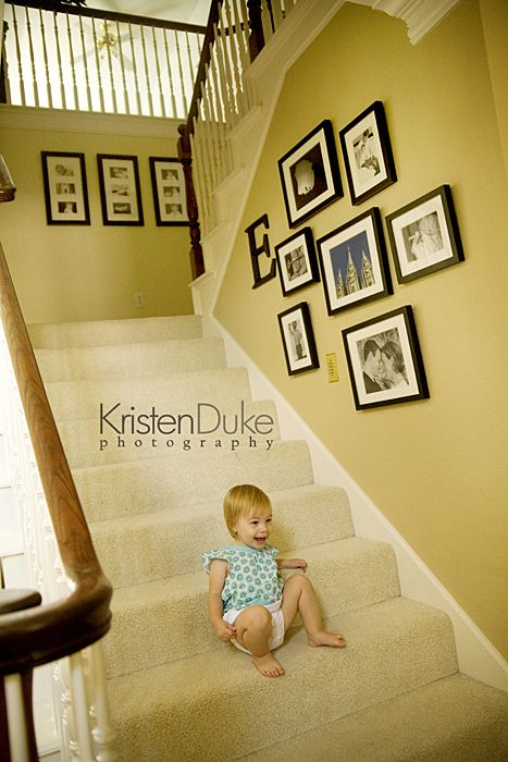 Family Love At Home~Part 2   Capturing Joy With Kristen Duke. Staircase  Picture WallsStairway PicturesFrame CollagesWall ...
