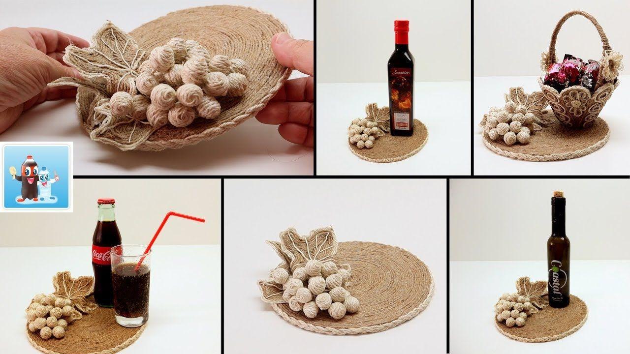 12+ Bottle craft ideas with thread information