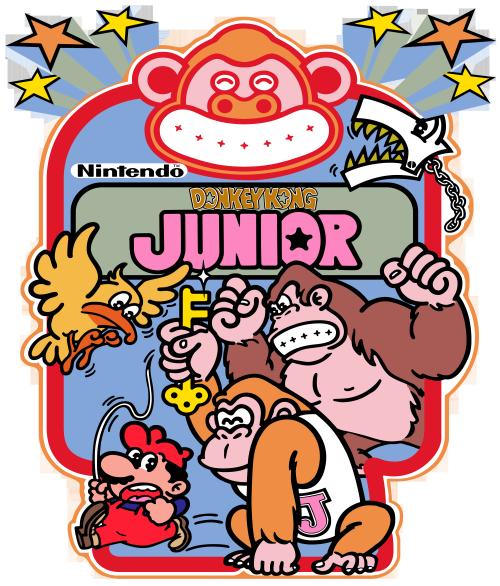 The Video Game Art Archive Donkey Kong Junior Retro Gaming Art Donkey Kong