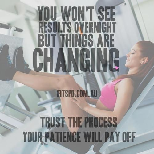 High Quality Healthy Fit Motivation. Be PatientFitness QuotesFitness ...