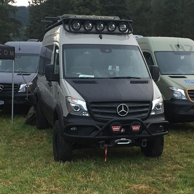 Great Roambuilt Showing At The NW Overland Rally This Past