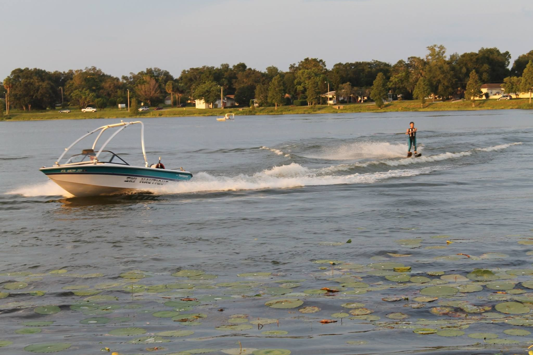 water skiing winter haven florida in the early days of water
