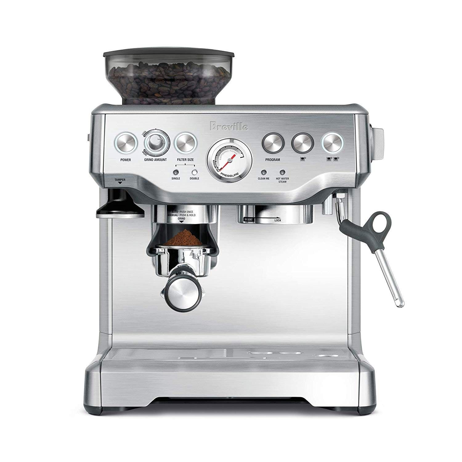 The Most Popular Kitchen Wedding Gifts You Can Register For On Amazon Best Home Espresso Machine Breville Espresso Machine Home Espresso Machine