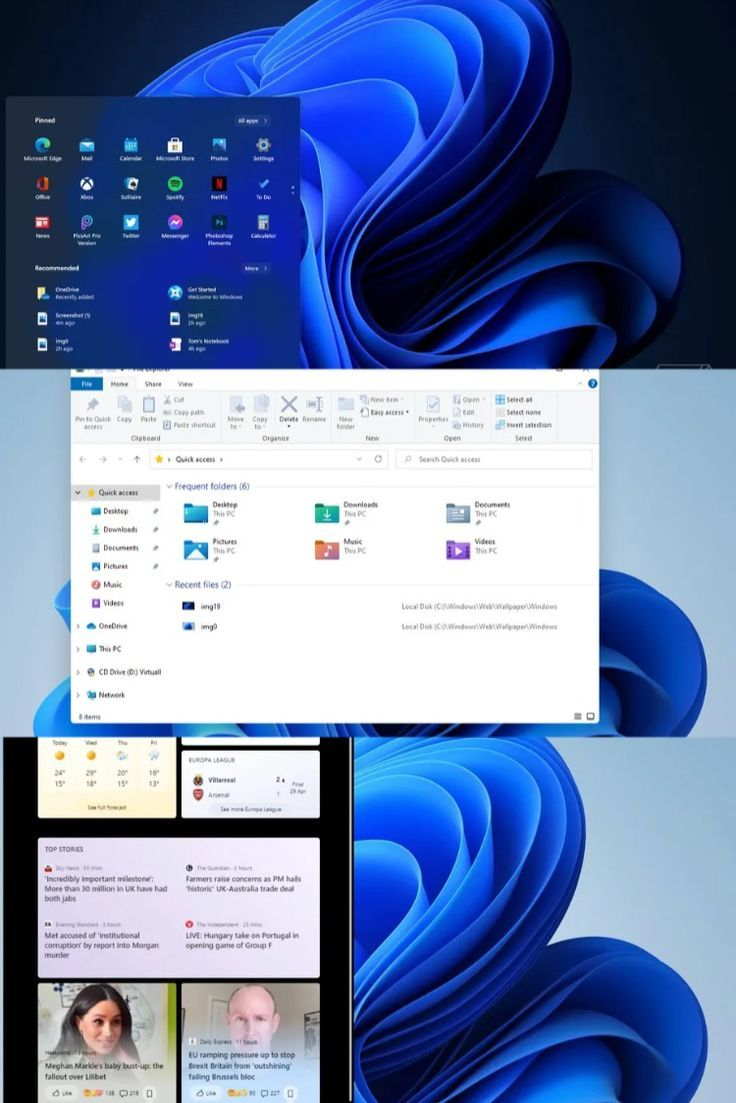 Windows 11 Preview Images