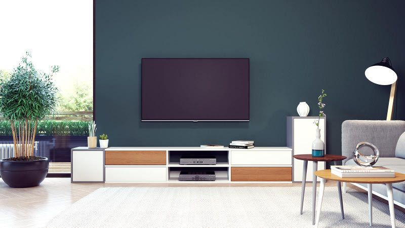 Meubles Tv A Configurer Chez Mycs Personnalisez Un Meuble Tele De Qualite Avec Notre Configurateur Etageres Ext Meuble Tv Meuble Tv Design Mobilier De Salon