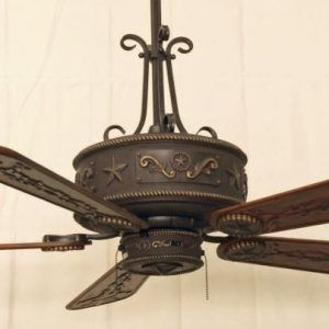 Cooper Canyon Western Star Ceiling Fan Rustic Lighting And Fans Rustic Ceiling Fan Ceiling Fan Western Home Decor