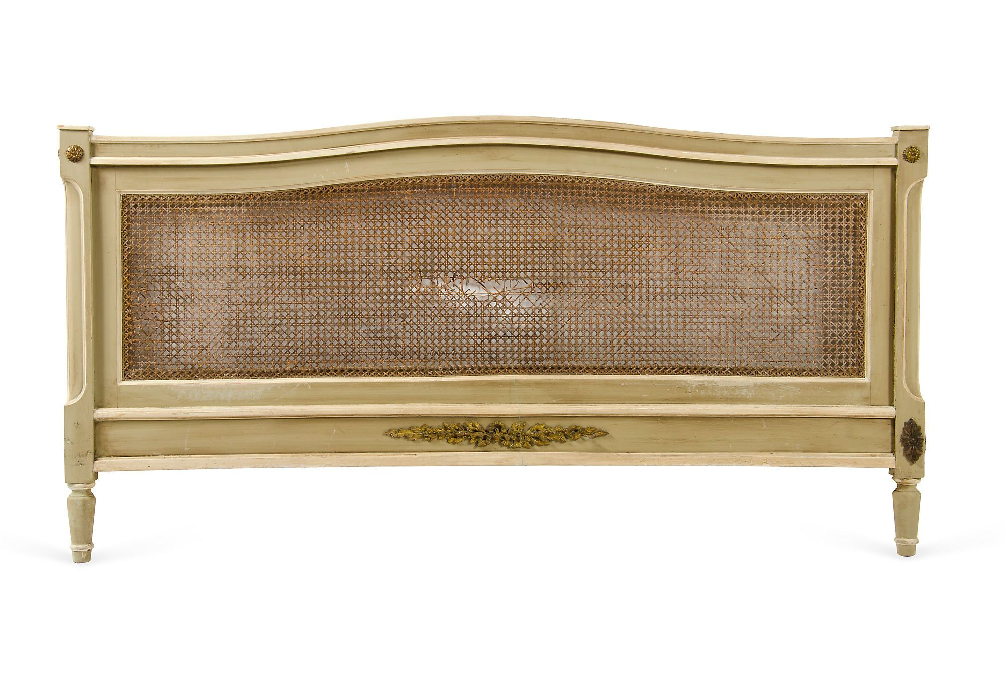 One Kings Lane - This Week's Vintage Mix - Cane Bed, Full