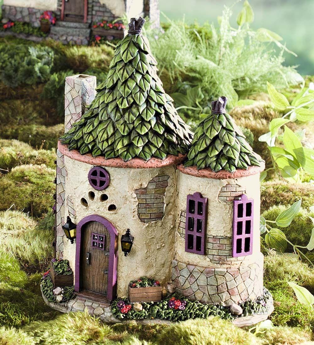 Gnome Garden: Miniature Fairy Garden Cornwall Solar House