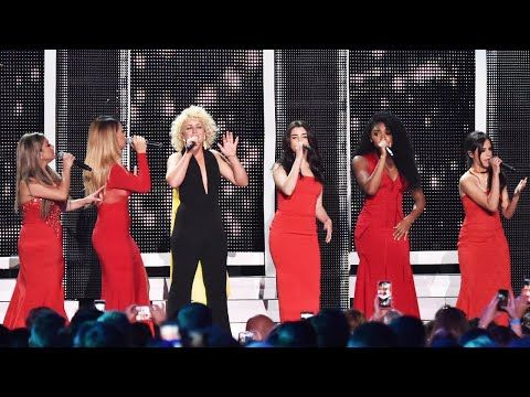Cam and fifth harmony mayday/work from home Mashup