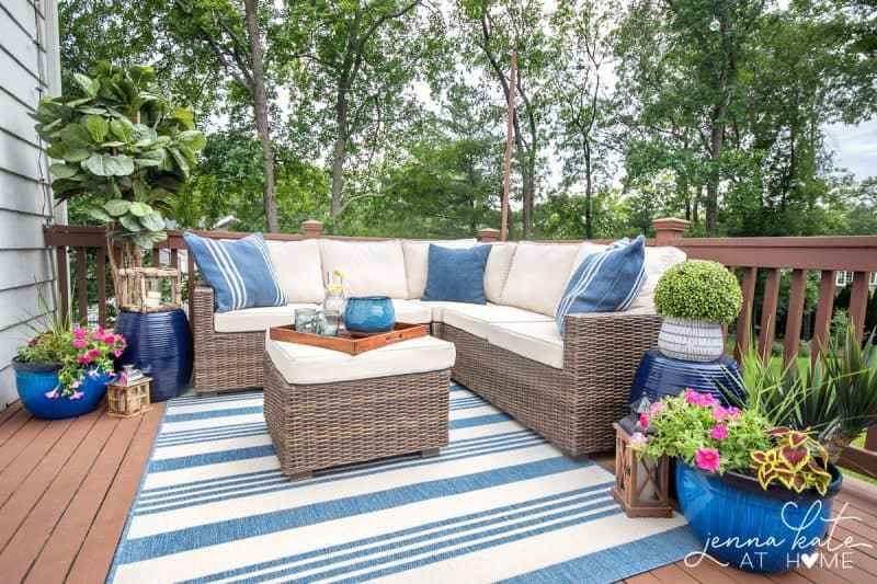 Deck Decorating Ideas Outdoor Deck Decorating Deck Makeover Small Deck Decorating Ideas