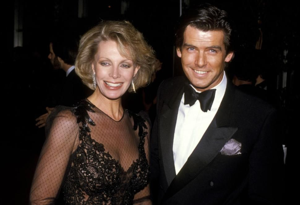Former James Bond Pierce Brosnan with late first wife Cassandra Harris