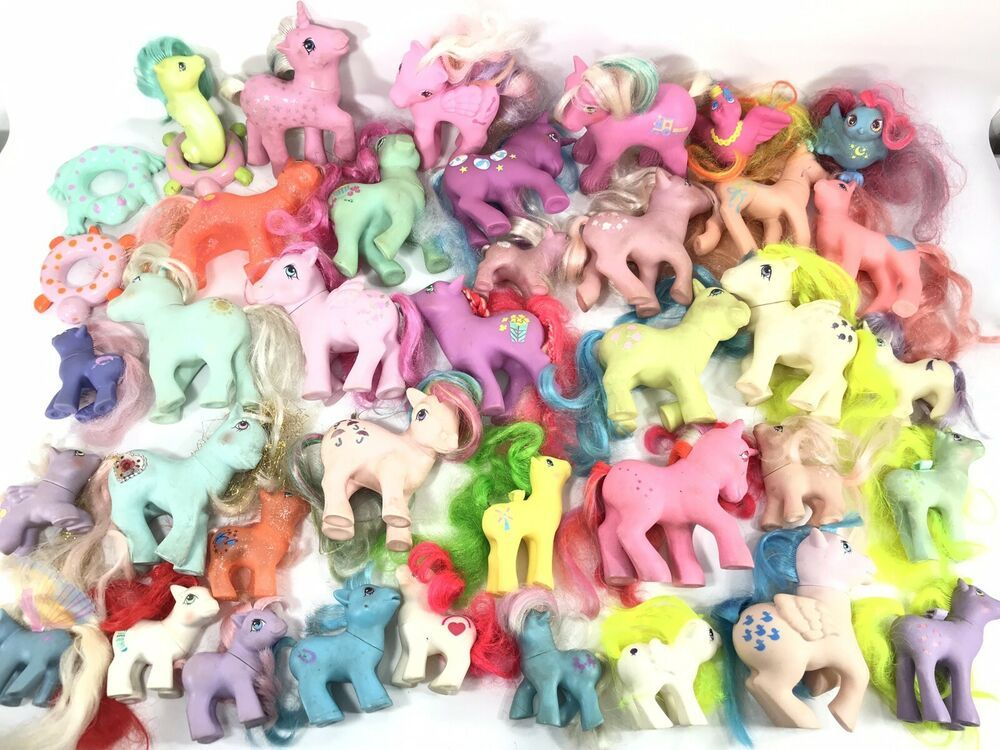Vintage G1 My Little Pony Mlp Large Lot Ebay My Little Pony Pony Little Pony