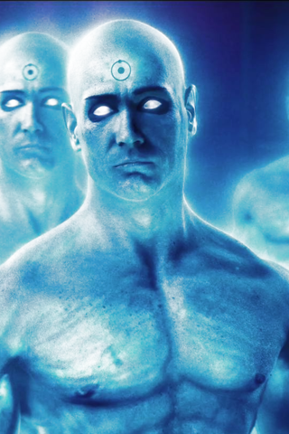 Dr Manhattan Watchmen 4 Android Wallpaper HD  2feab5bda710