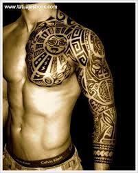 Tatuajes Tribales Para Hombres En El Brazo Buscar Con Google Aztec Tribal Tattoos Tribal Tattoos Tribal Tattoos For Men