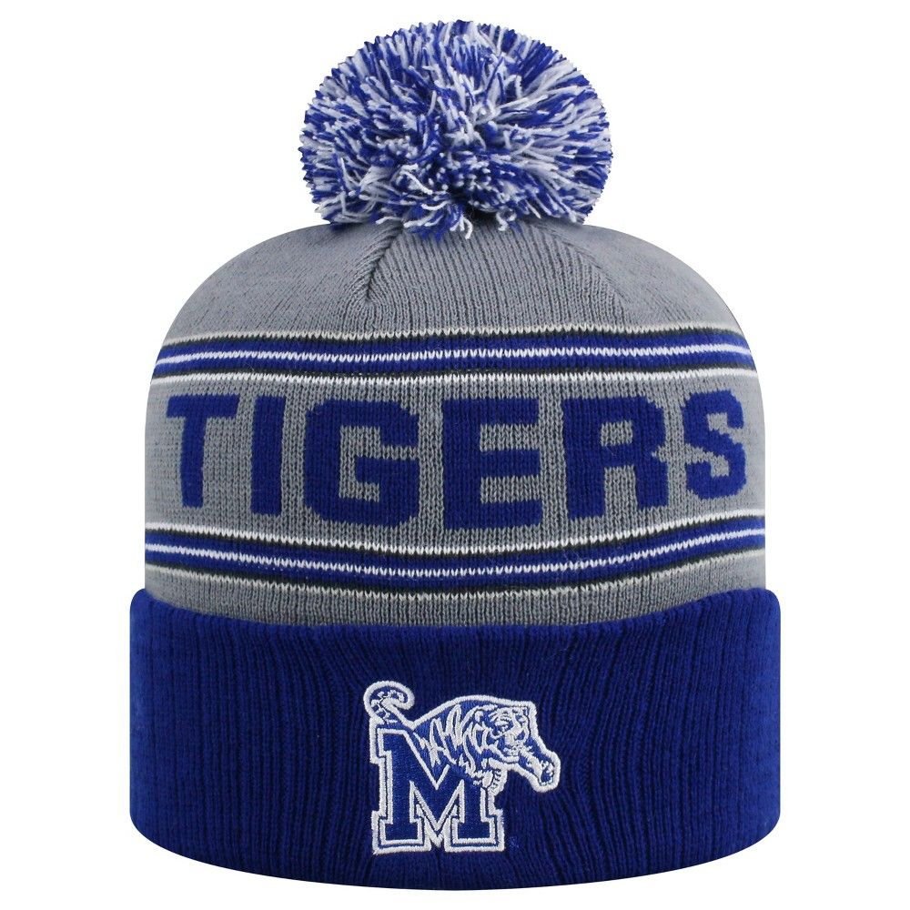 38b1ce87 Gender: Male. Pattern: Solid. Material: Acrylic.. Beanies NCAA Memphis  Tigers Blue #Apparel #ApparelAccessories #Hats&GlovesandScarves #Hats