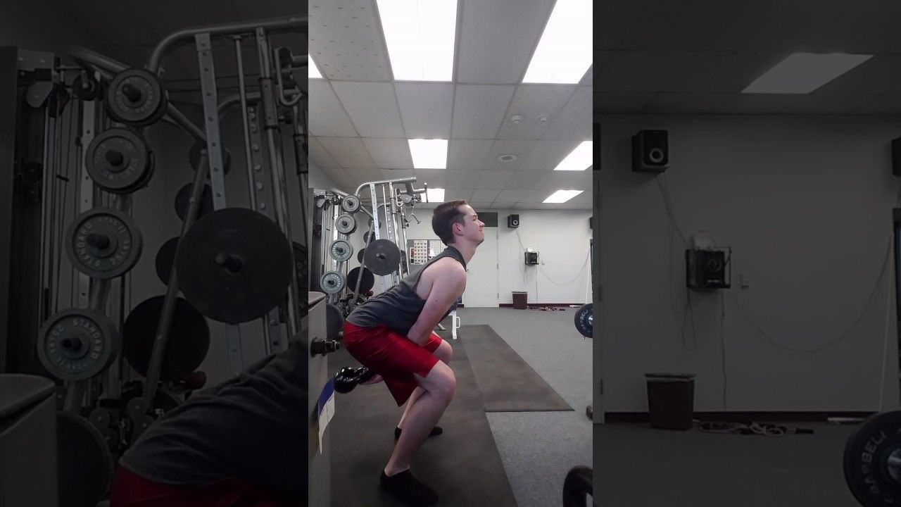 2 Hand Swing Form Check #kettlebell #fitness #workout #exercise #fitfluential #crossfit #workouts #training #strength #gym