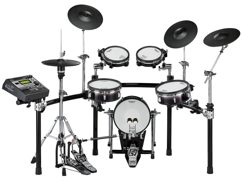 roland td 12kx electric drum kit since i can 39 t be too loud wants drums drum kits drum machine. Black Bedroom Furniture Sets. Home Design Ideas