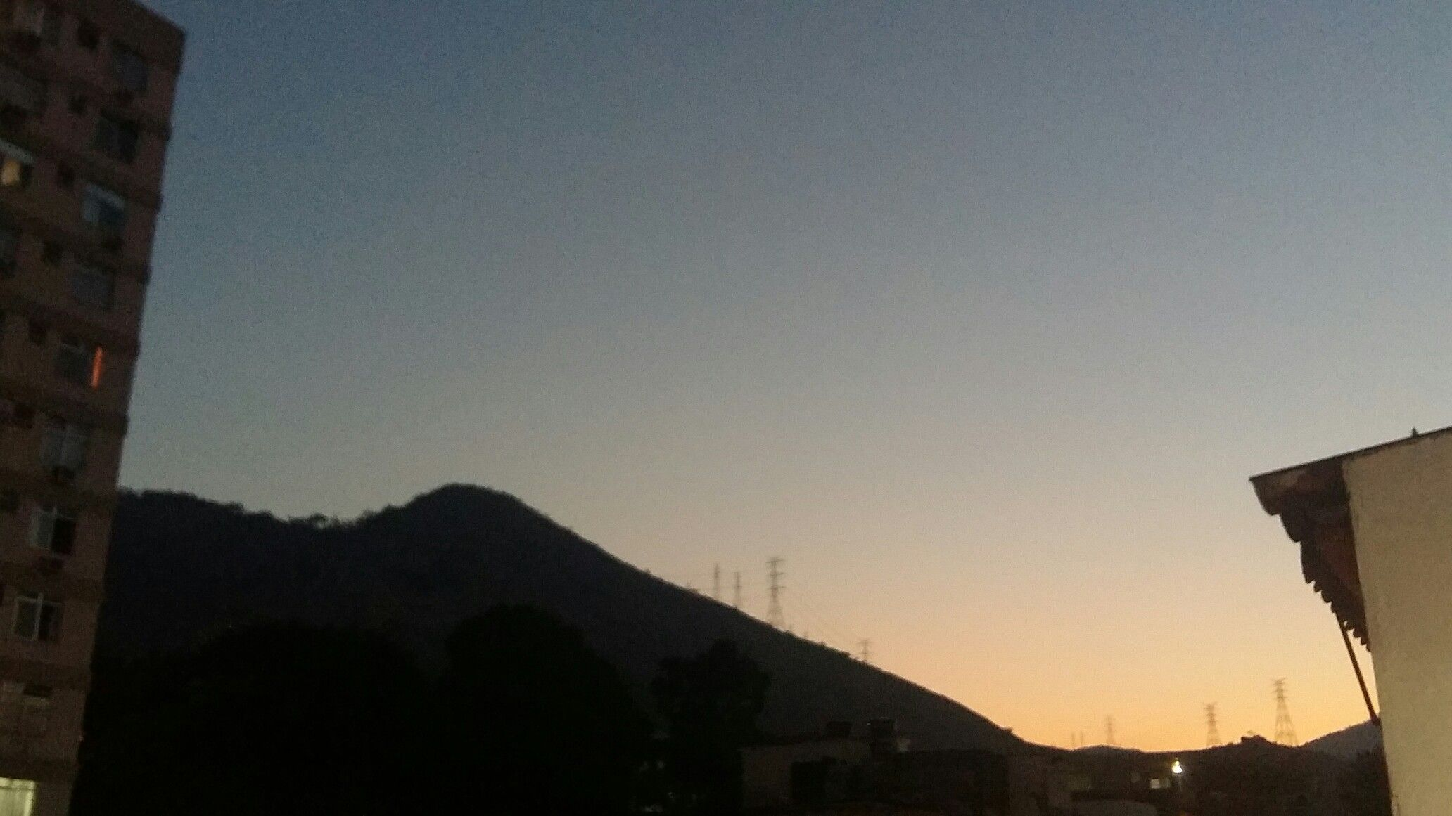 Se as montanhas fossem nuas...
