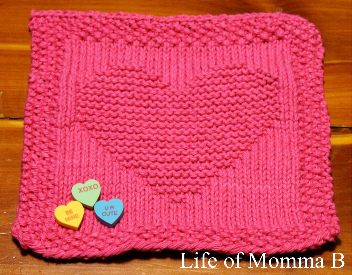 My whole heart knit crochet knitted dishcloths and crochet heart dishcloth 3 bankloansurffo Image collections