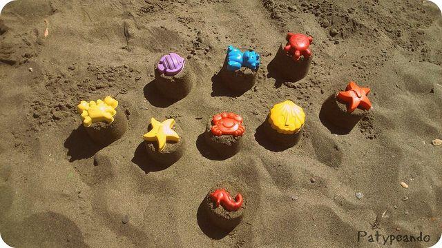 castillos en la playa