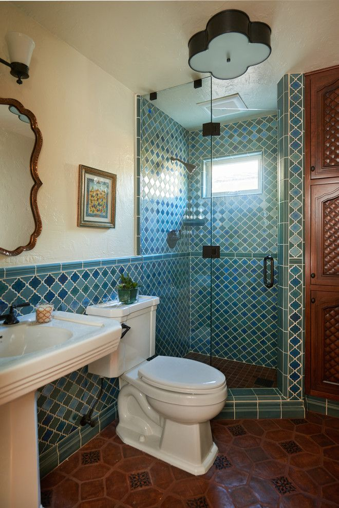 Badezimmer Marokkanischer -Marokkanische Fliesen Designer