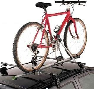 Aluminum Upright Car Roof Mounted Bike Bicycle Rack Carrier Light