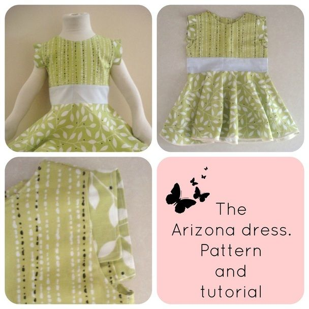 FREE SEWING PATTERN: The Arizona dress - On the Cutting Floor ...