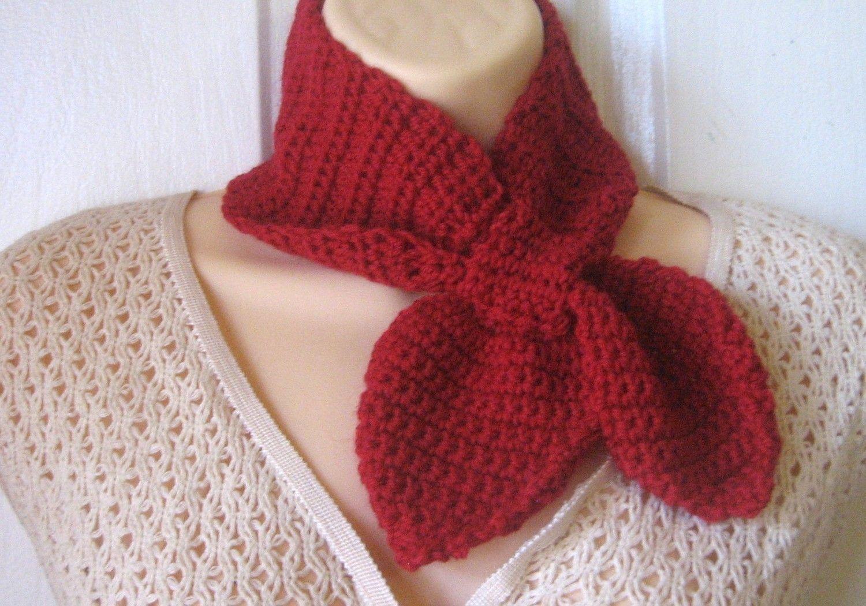 PDF Crochet Pattern Ascot Scarf | Get Crafty | Pinterest | Pdf ...