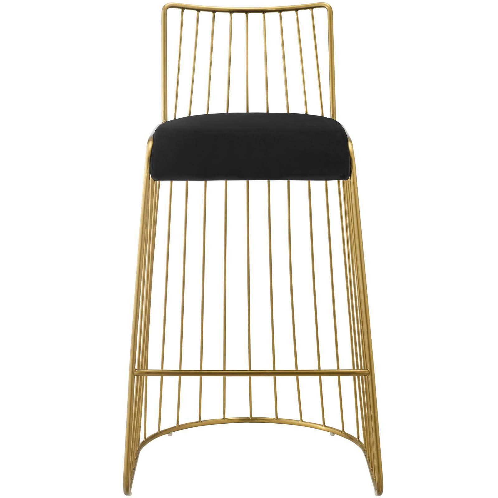 Awe Inspiring Modway Rivulet Velvet Spindle Back Bar Stool In 2019 Evergreenethics Interior Chair Design Evergreenethicsorg