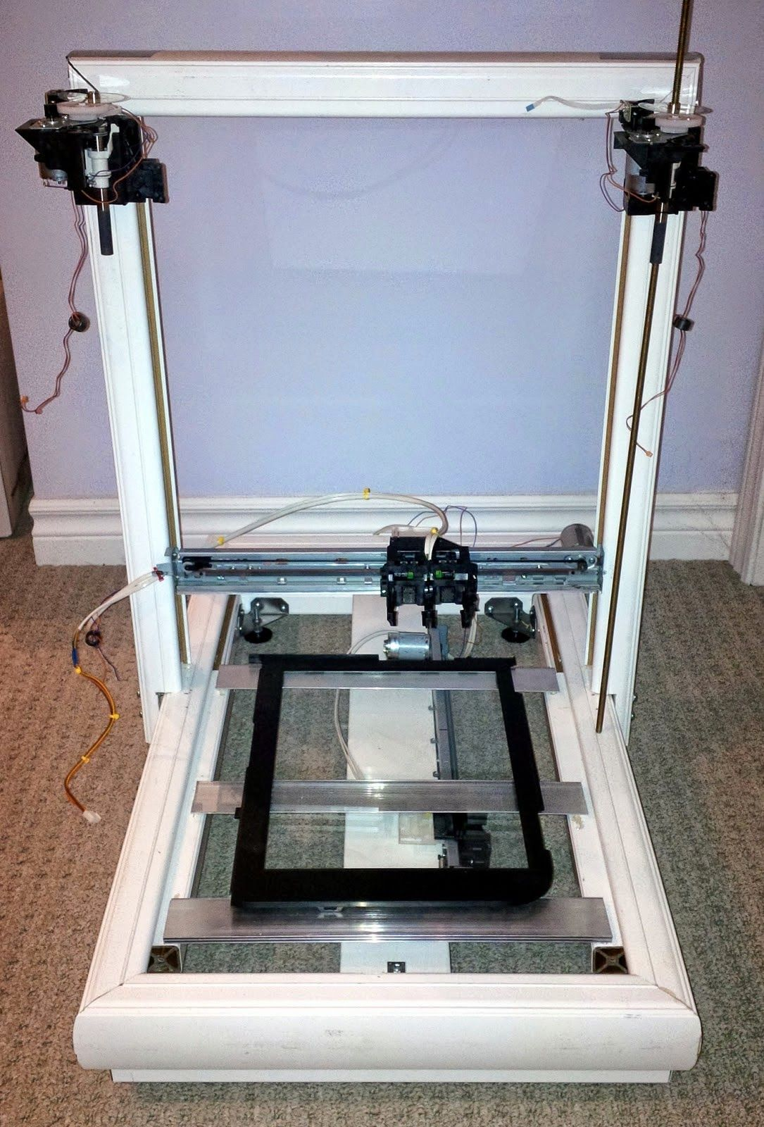 DIY 3D Printing RepScrap DIY 3d printer from salvaged