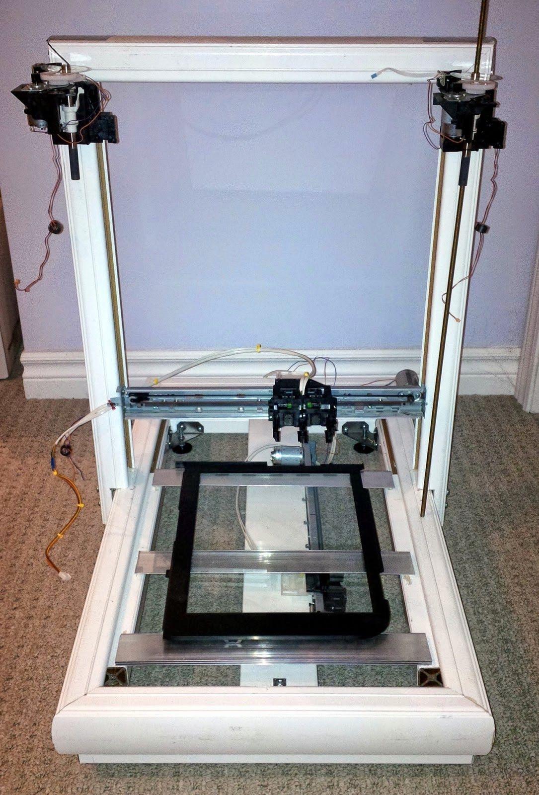 Diy 3d printing repscrap diy 3d printer from salvaged