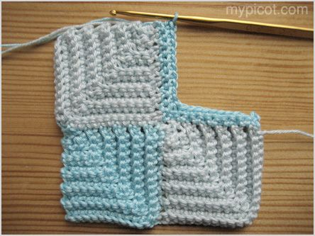Mypicot Free Crochet Patterns Square Stitch Pattern For This