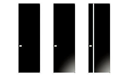 開きドアデザイン