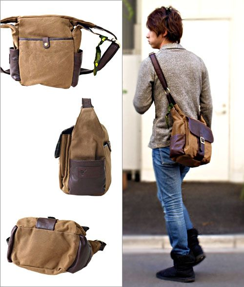 $126 British green BRITISH GREEN shoulder bag | Cool Man Bags ...