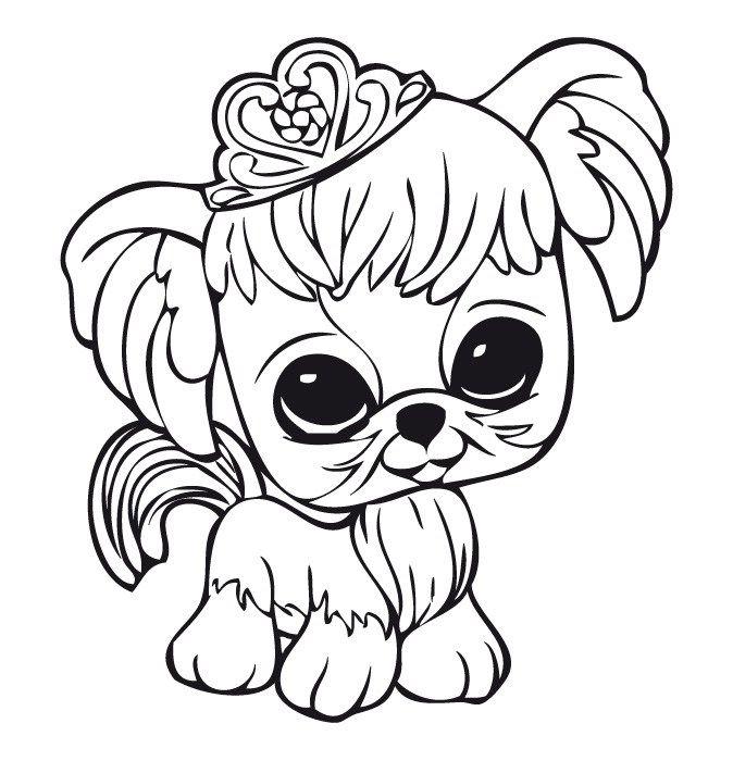 Dibujos para Colorear. Dibujos para Pintar. Dibujos para imprimir y colorear online. Littlest pet shop 8