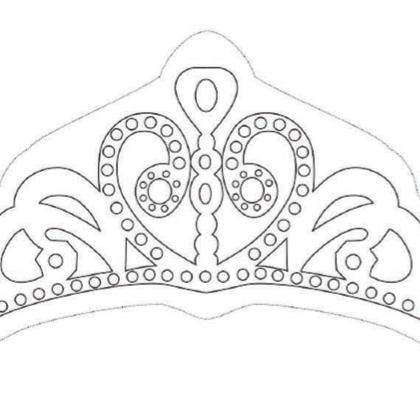 Coloriage la couronne de princesse sofia anniversaire - Dessin couronne princesse ...