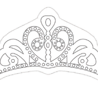 Coloriage la couronne de princesse sofia anniversaire printables - Coloriage couronne ...