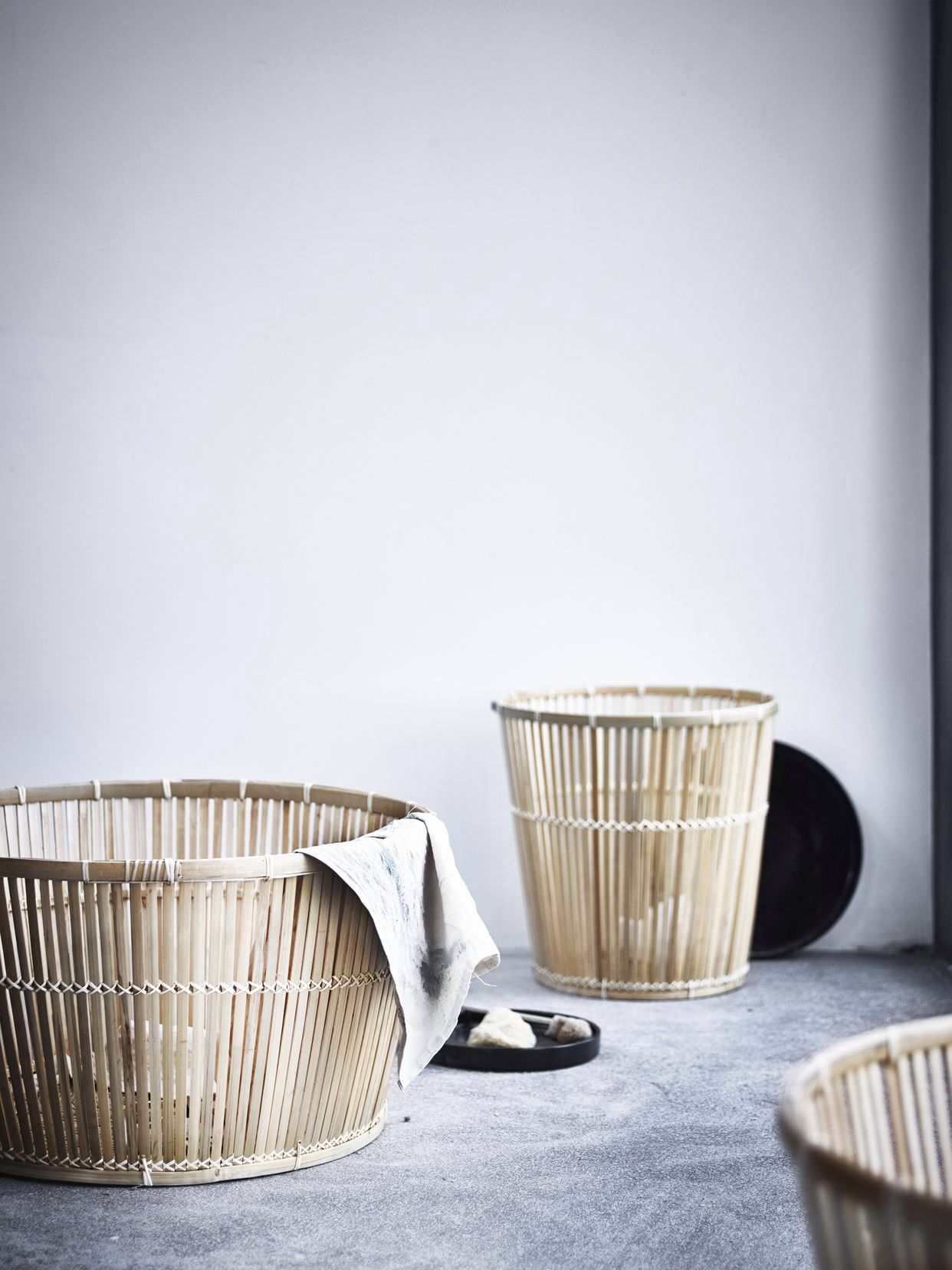 Pin De Sanna En Baskets Pinterest # Muebles Bambu Bano