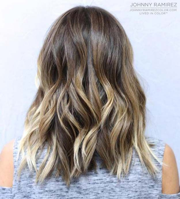 The 48 Best Medium Length Hairstyles To Steal For Yourself The Goddess Brown Wavy Hair Medium Length Hair Styles Medium Layered Haircuts
