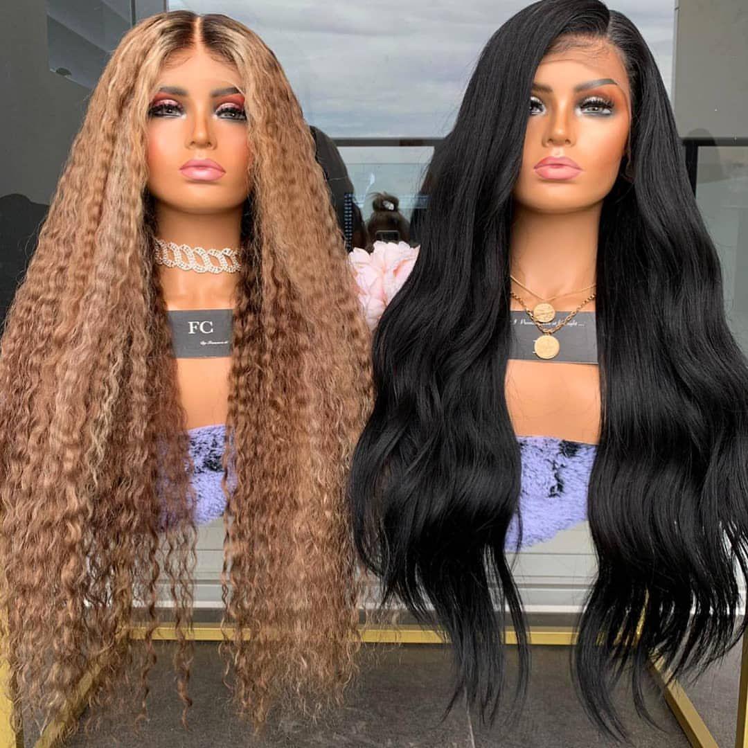 باروكة الشعر الطبيعي Barbie Hair Glamour Nails Hair Styles