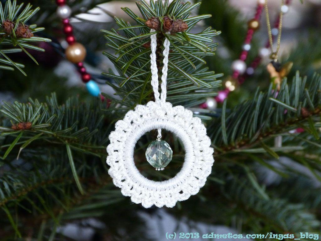 fertiger Häkelstern | Christmas crochet & Crafts | Pinterest ...