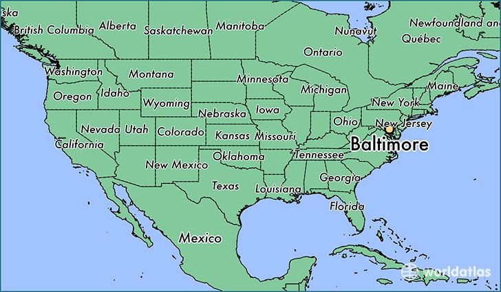 Baltimore On Us Map نتيجة بحث الصور عن ‪us map baltimore‬‏ | Kansas city missouri, Map