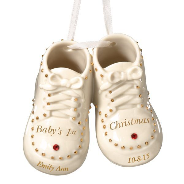 2995  Babys 1st Steps Ornament By Lenox  Gift Ideas