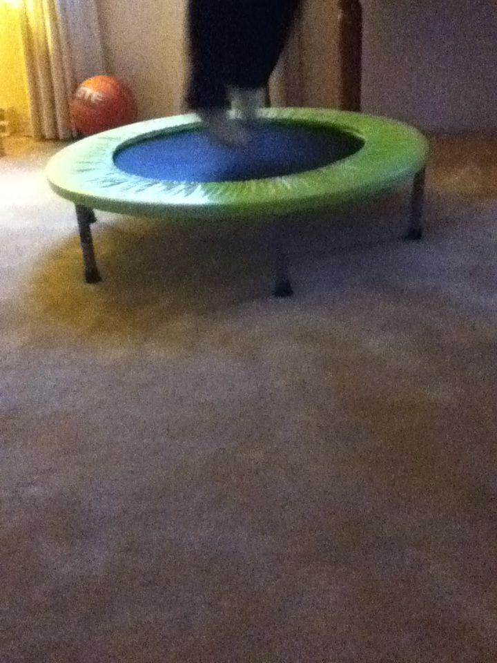 It is a trampoline