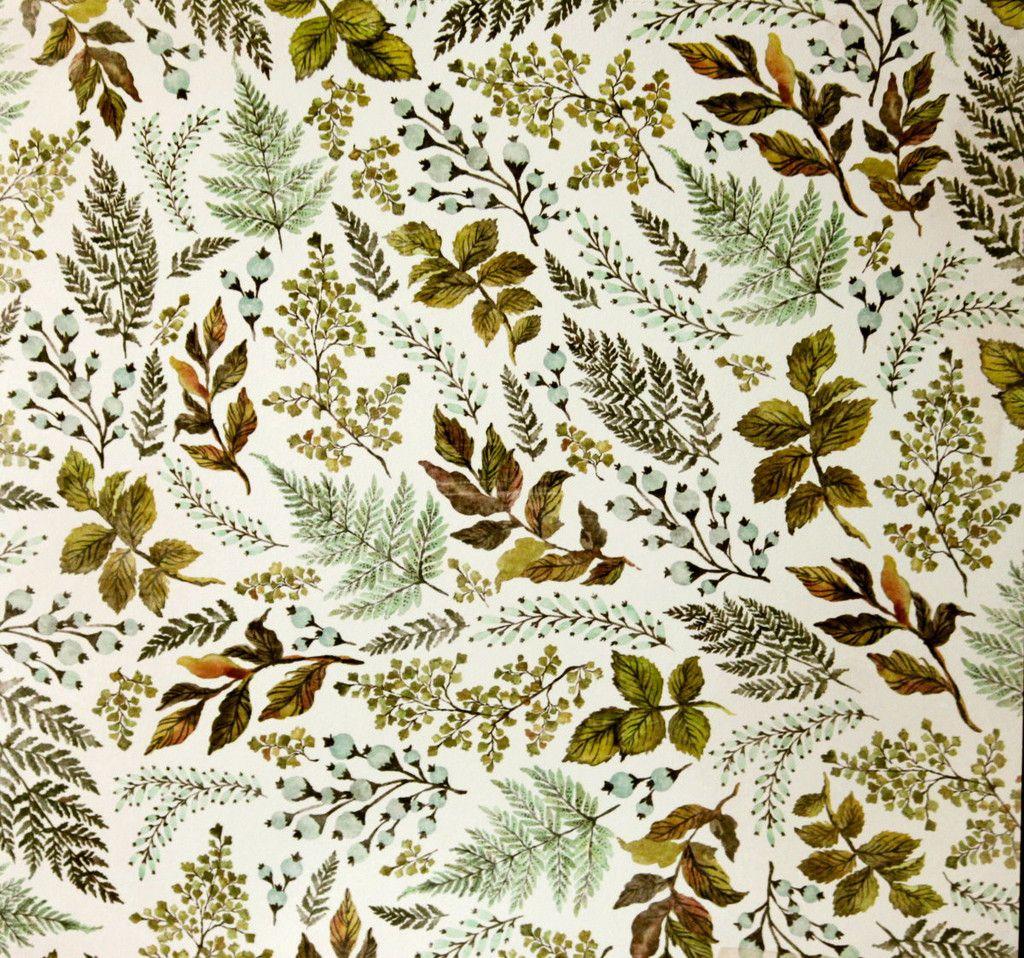 Scrapbook paper cardstock - We R Memory Keepers 12 X 12 Wildflower Fern Cardstock Scrapbook Paper