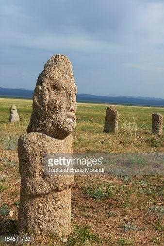 deer stones of mongolia - Google Search