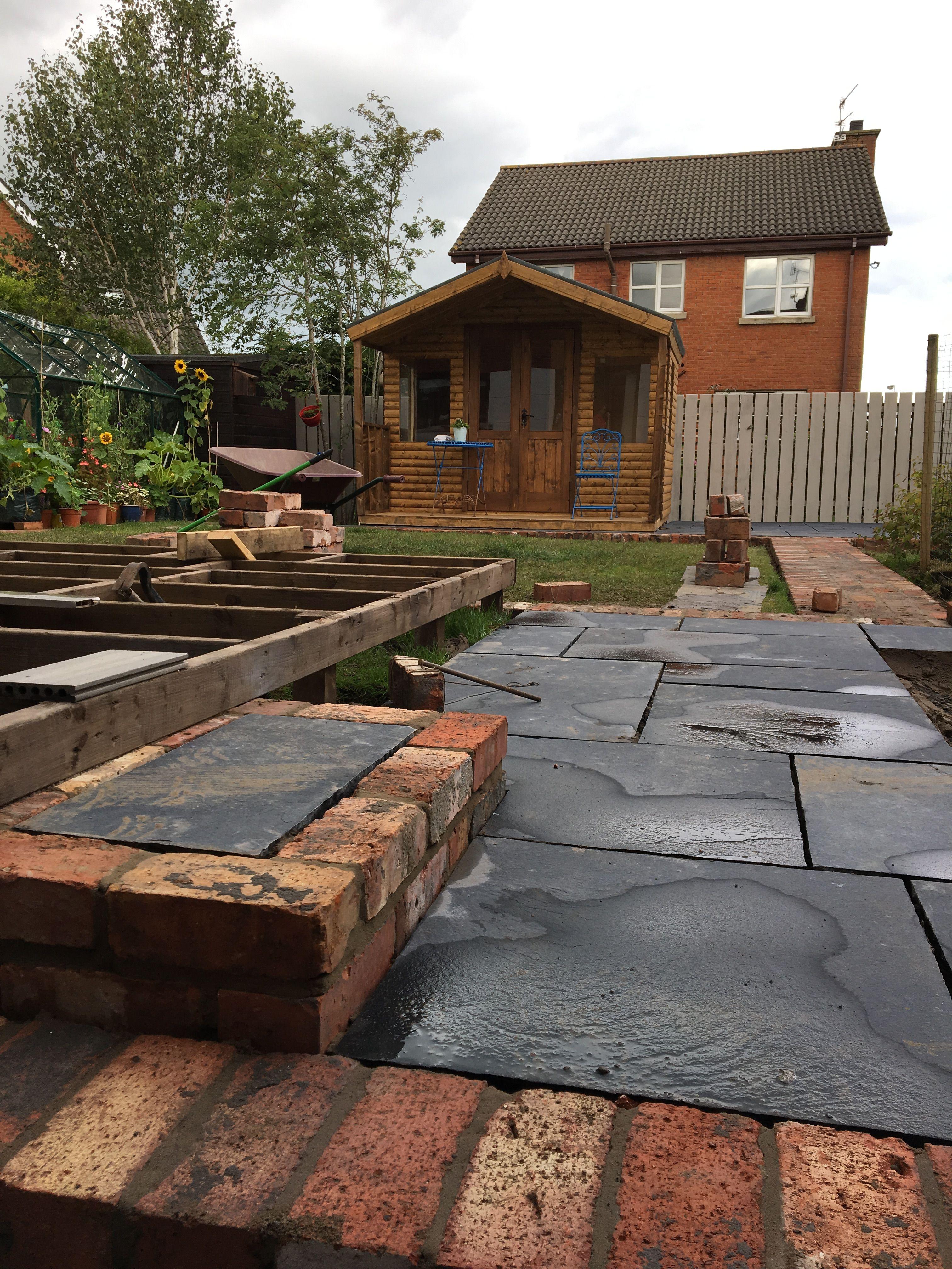 Idea by Charlie Mac on Our Belfast brick garden ...